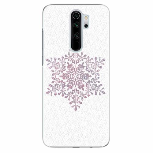 Plastový kryt iSaprio - Snow Flake - Xiaomi Redmi Note 8 Pro