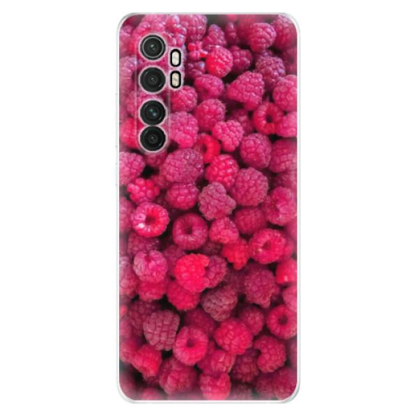 Odolné silikonové pouzdro iSaprio - Raspberry - Xiaomi Mi Note 10 Lite