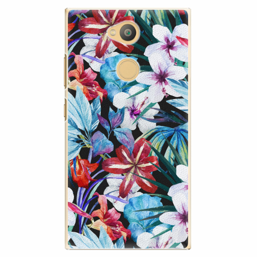 Plastový kryt iSaprio - Tropical Flowers 05 - Sony Xperia L2