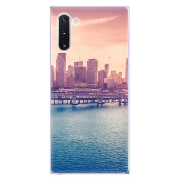 Odolné silikonové pouzdro iSaprio - Morning in a City - Samsung Galaxy Note 10