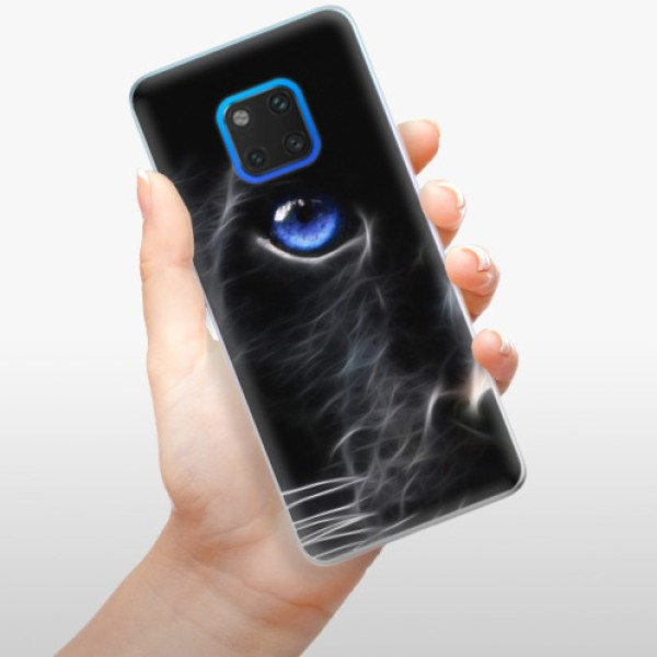 Silikonové pouzdro iSaprio - Black Puma - Huawei Mate 20 Pro