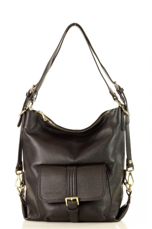Přírodní kožená taška model 136461 Mazzini - UNI velikost