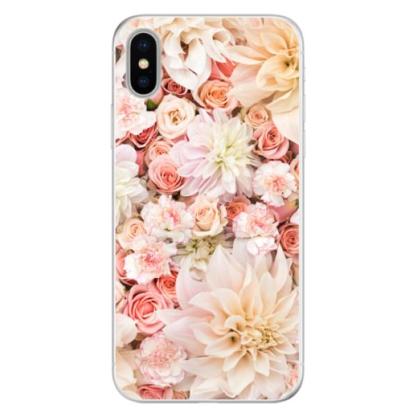 Silikonové pouzdro iSaprio - Flower Pattern 06 - iPhone X