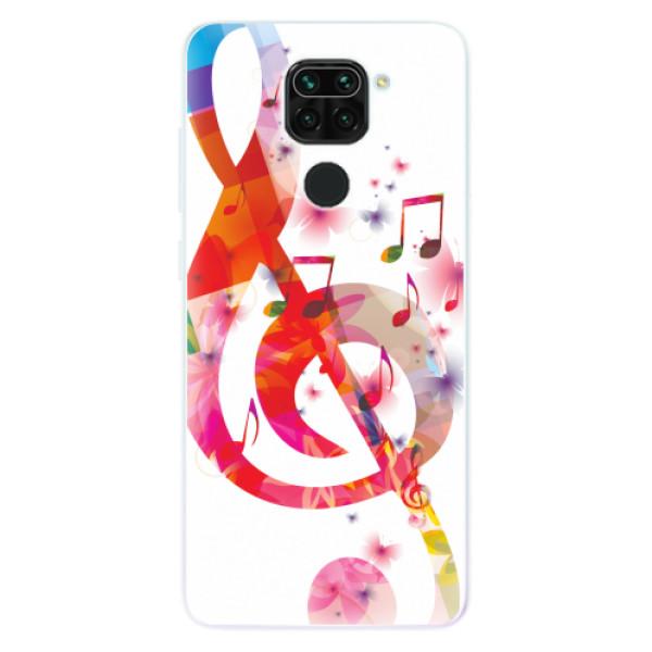 Odolné silikonové pouzdro iSaprio - Love Music - Xiaomi Redmi Note 9