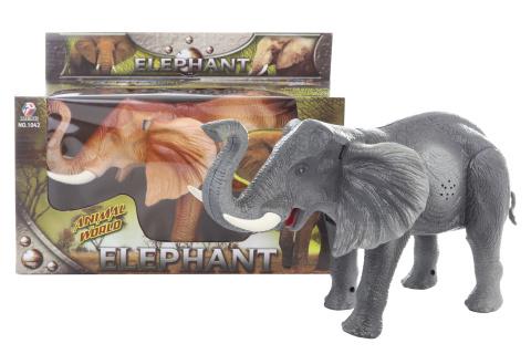 Slon chodící se zvukem