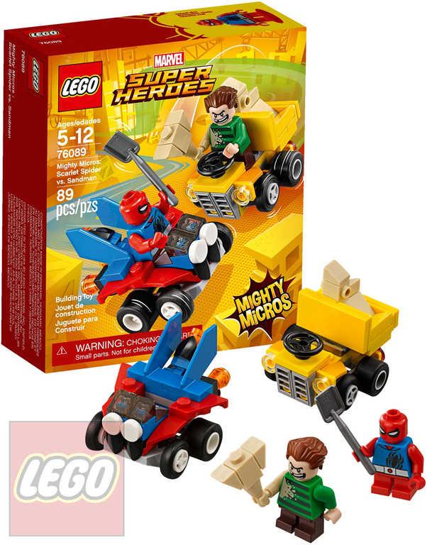 LEGO SUPER HEROES Mighty Micros: Scarlet Spider vs. Sandman STAVEBNICE 76089
