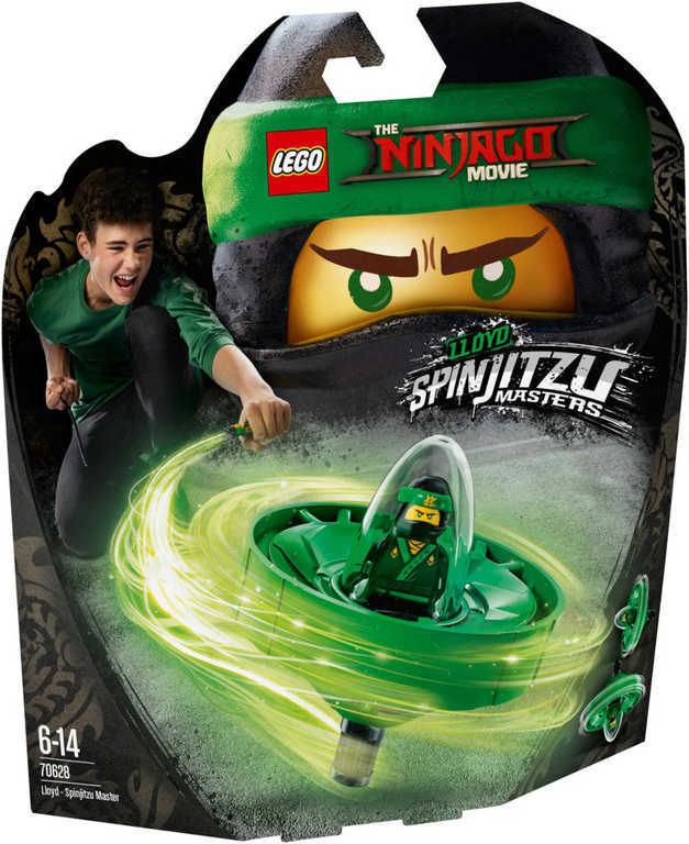 LEGO NINJAGO Lloyd - Mistr Spinjitzu 70628 STAVEBNICE