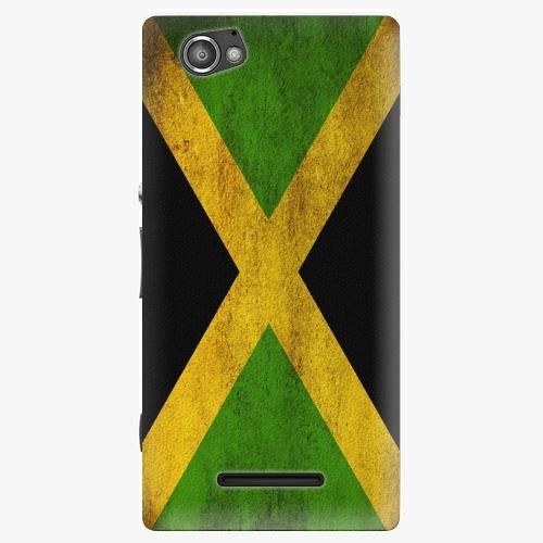 Plastový kryt iSaprio - Flag of Jamaica - Sony Xperia M