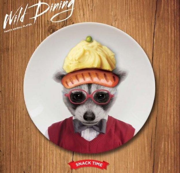 Malé talířky Wild Dining - mýval