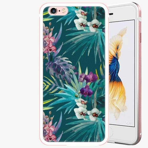 Plastový kryt iSaprio - Tropical Blue 01 - iPhone 6 Plus/6S Plus - Rose Gold