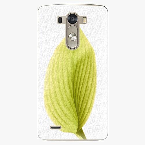 Plastový kryt iSaprio - Green Leaf - LG G3 (D855)