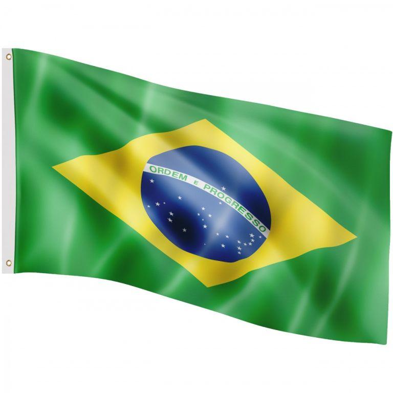 Vlajka Brazílie, 120 x 80 cm