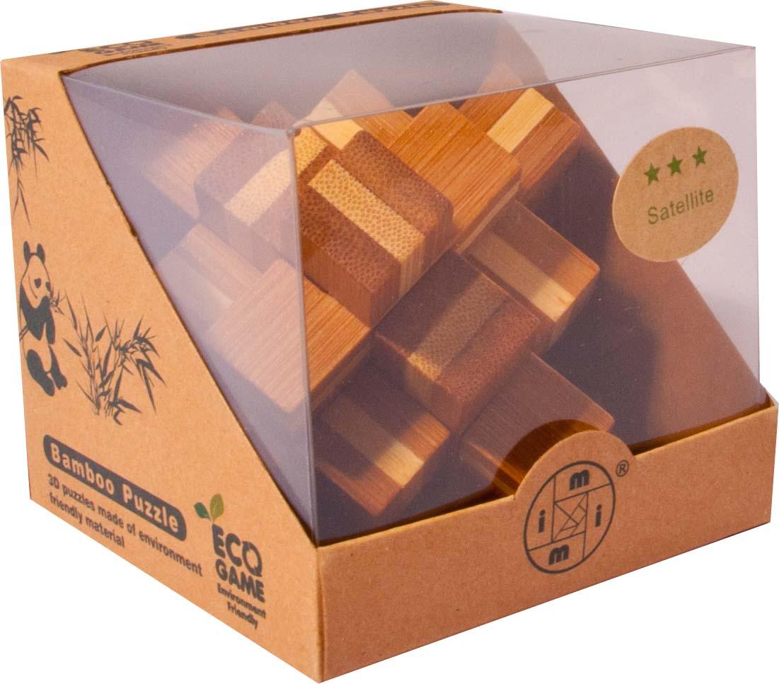 Bambusový - hlavolam - Točící káča