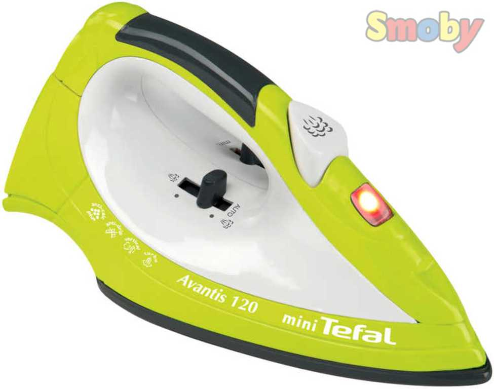 SMOBY Žehlička dětská mini TEFAL Světlo Zvuk