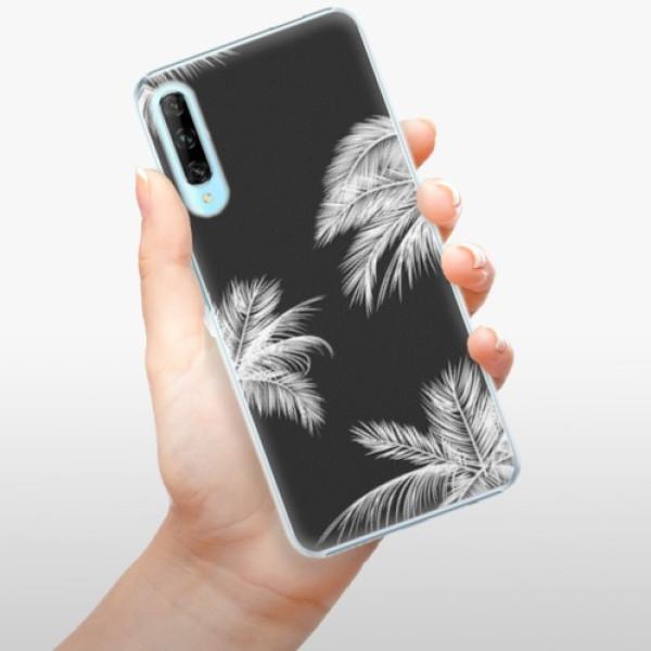 Plastové pouzdro iSaprio - White Palm - Huawei P Smart Pro
