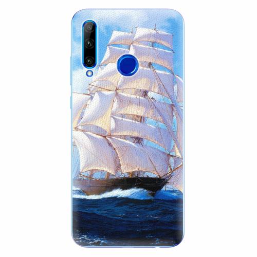 Silikonové pouzdro iSaprio - Sailing Boat - Huawei Honor 20 Lite