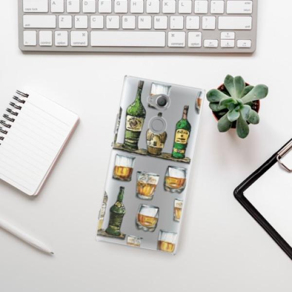 Plastové pouzdro iSaprio - Whisky pattern - Sony Xperia XA2 Ultra