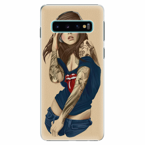 Plastový kryt iSaprio - Girl 03 - Samsung Galaxy S10