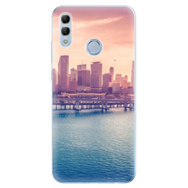 Odolné silikonové pouzdro iSaprio - Morning in a City - Huawei Honor 10 Lite