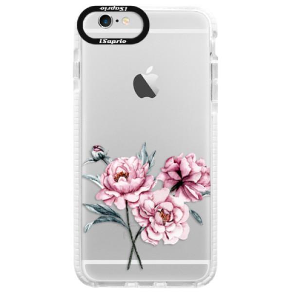 Silikonové pouzdro Bumper iSaprio - Poeny - iPhone 6 Plus/6S Plus