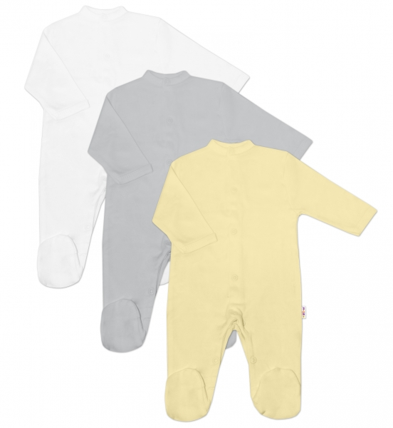 baby-nellys-kojenecka-neutr-sada-overalu-basic-zluta-seda-bila-3-ks-50-0-1m