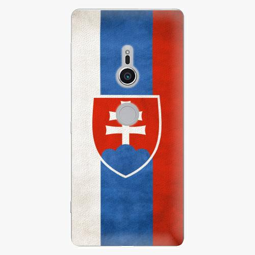 Plastový kryt iSaprio - Slovakia Flag - Sony Xperia XZ2
