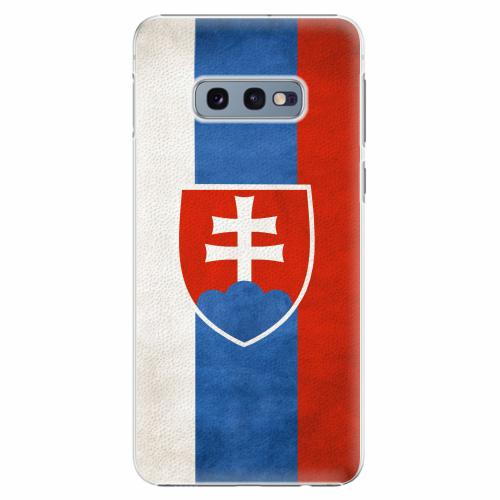 Plastový kryt iSaprio - Slovakia Flag - Samsung Galaxy S10e