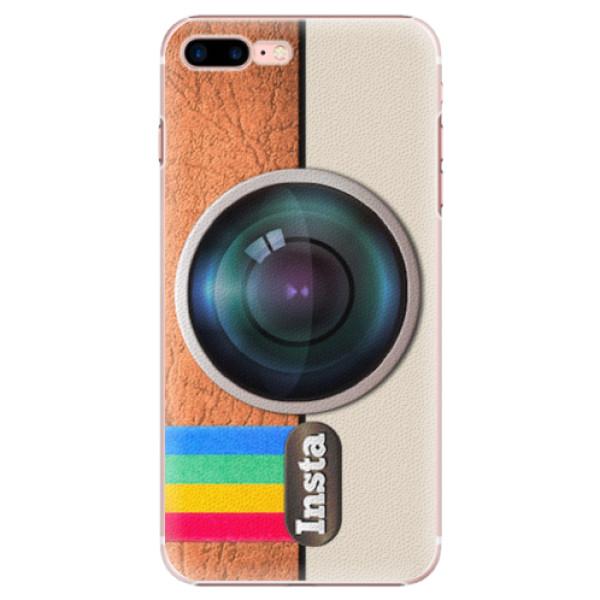Plastové pouzdro iSaprio - Insta - iPhone 7 Plus