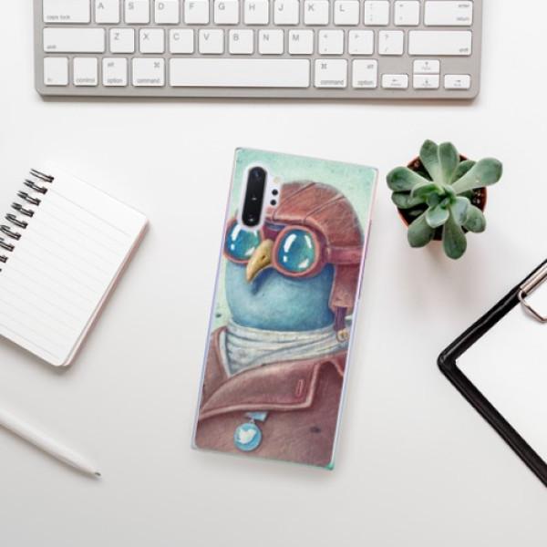 Plastové pouzdro iSaprio - Pilot twitter - Samsung Galaxy Note 10+