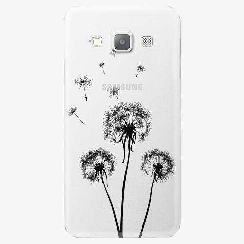 Plastový kryt iSaprio - Three Dandelions - black - Samsung Galaxy A5