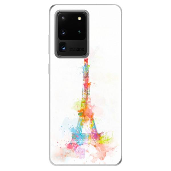 Odolné silikonové pouzdro iSaprio - Eiffel Tower - Samsung Galaxy S20 Ultra