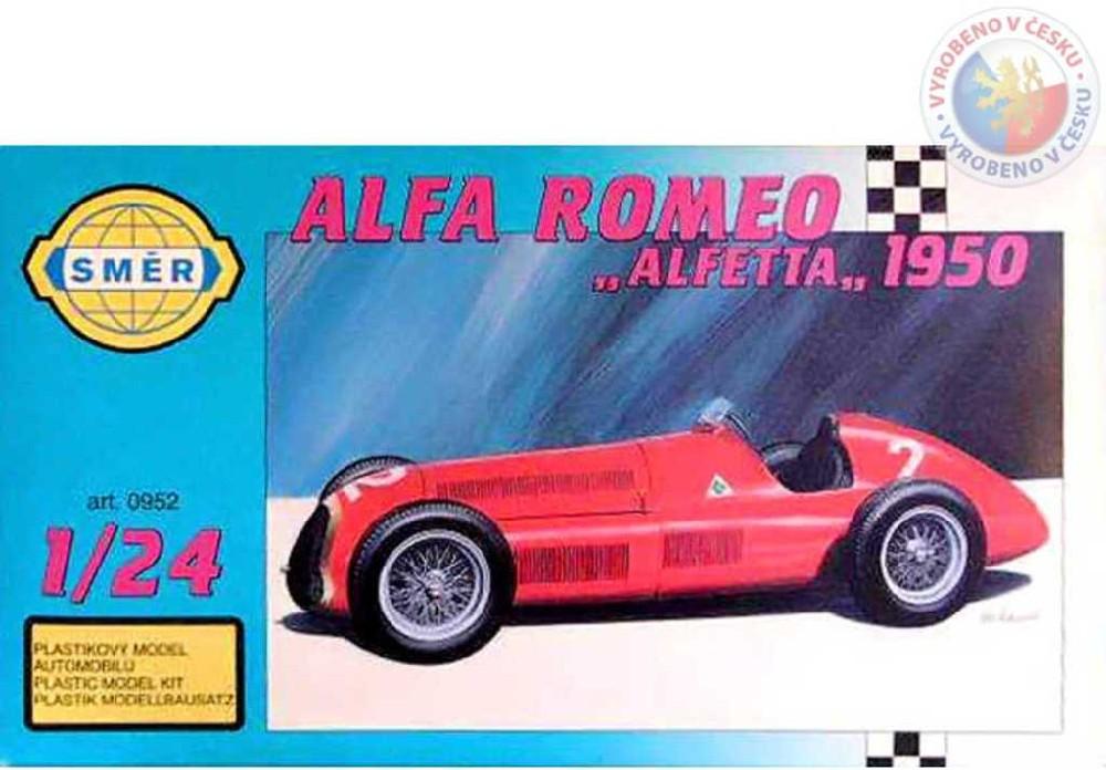 SMĚR Model auto Alfa Romeo 1947 1:24 (stavebnice auta)