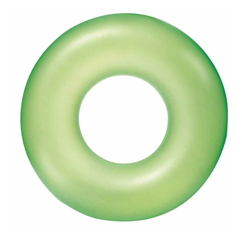 Dětský nafukovací kruh Bestway - zelená