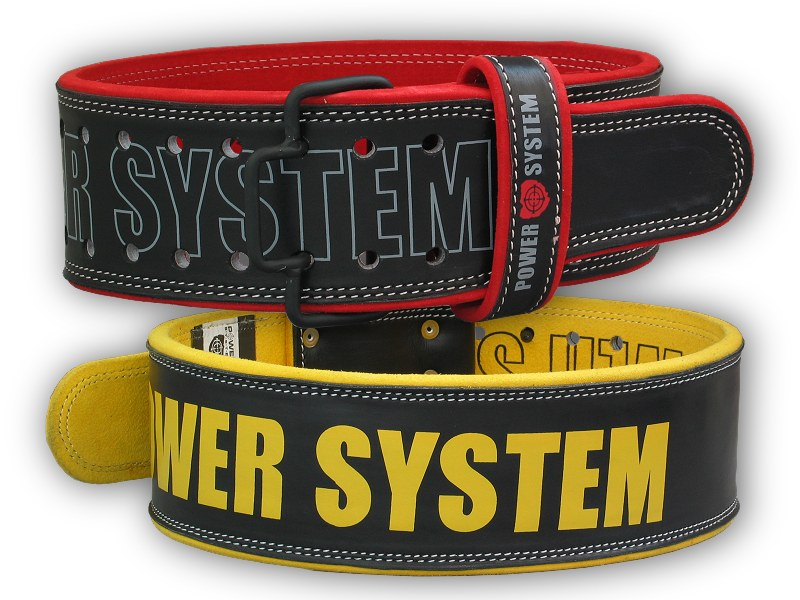 PowerSystem opasek POWER - BEAST-yellow-m