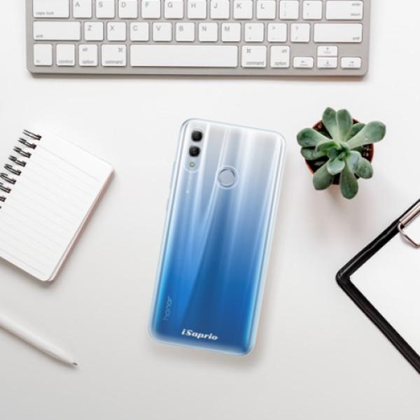 Odolné silikonové pouzdro iSaprio - 4Pure - mléčný bez potisku - Huawei Honor 10 Lite
