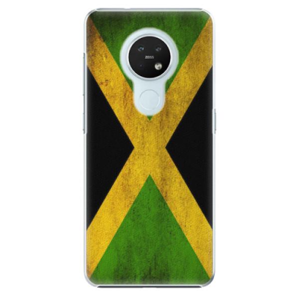 Plastové pouzdro iSaprio - Flag of Jamaica - Nokia 7.2