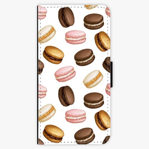 Flipové pouzdro iSaprio - Macaron Pattern - iPhone 7
