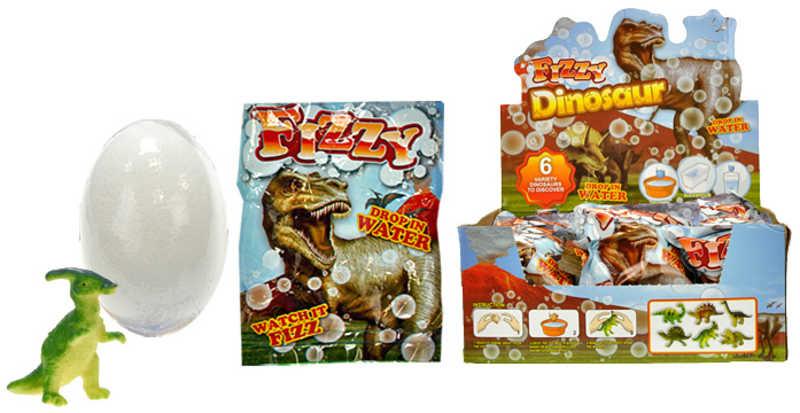 Dinosaurus ve vajíčku rozpustném ve vodě Líhnoucí se s Rostoucí 6 druhů