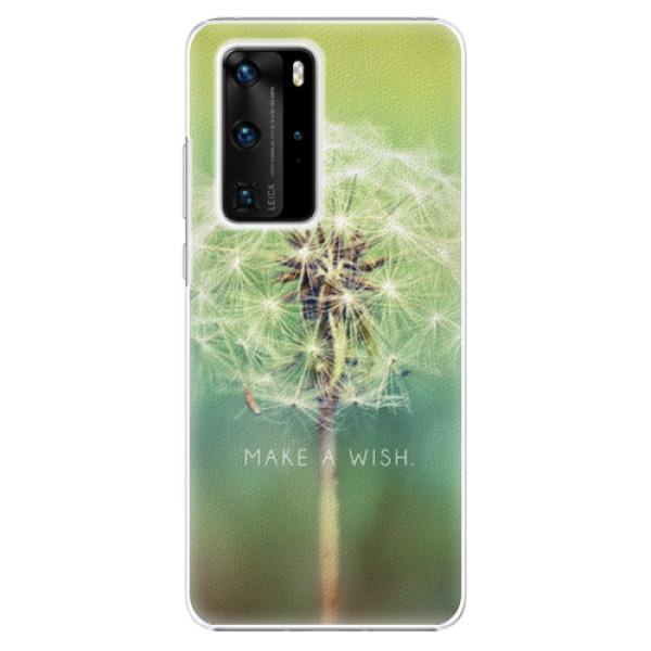 Plastové pouzdro iSaprio - Wish - Huawei P40 Pro
