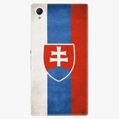 Plastový kryt iSaprio - Slovakia Flag - Sony Xperia Z1