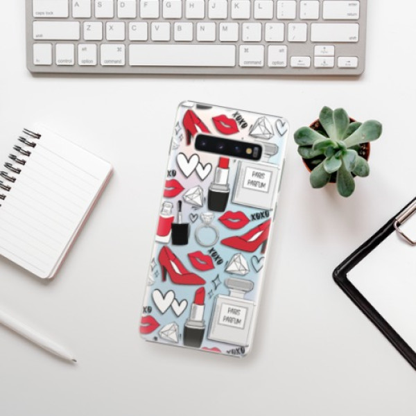 Plastové pouzdro iSaprio - Fashion pattern 03 - Samsung Galaxy S10+