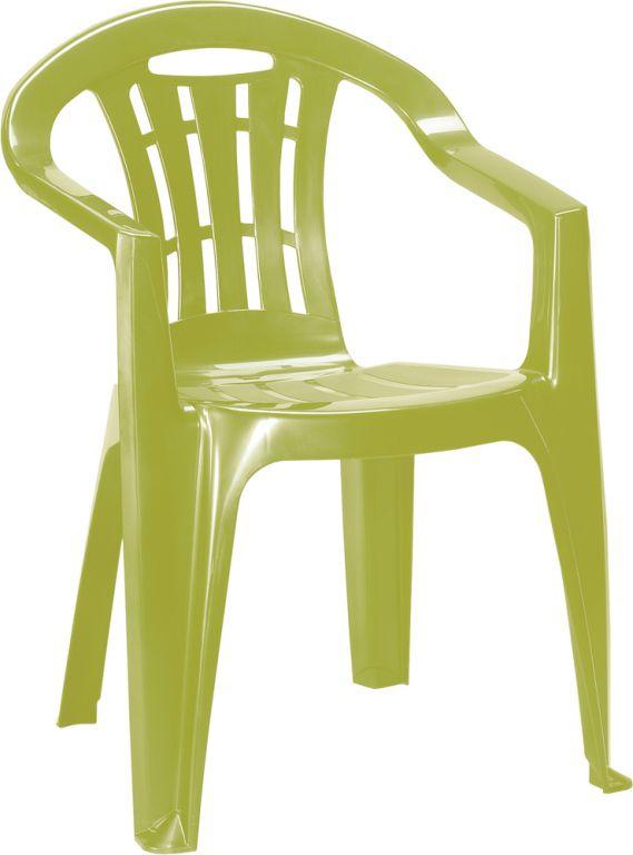 Zahradní židle MALLORCA - světle zelené