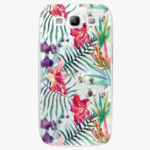 Plastový kryt iSaprio - Flower Pattern 03 - Samsung Galaxy S3