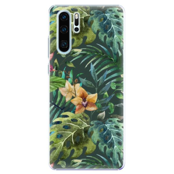 Plastové pouzdro iSaprio - Tropical Green 02 - Huawei P30 Pro