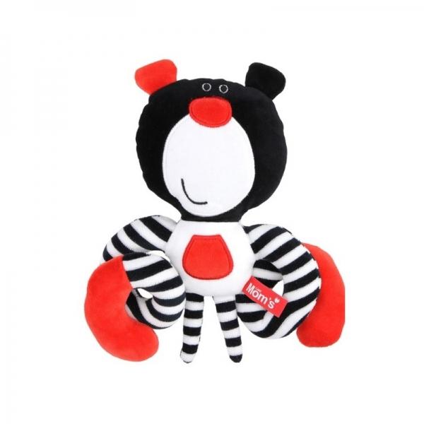 hencz-toys-roztomila-edukacni-hracka-meda-spiralka-cerna