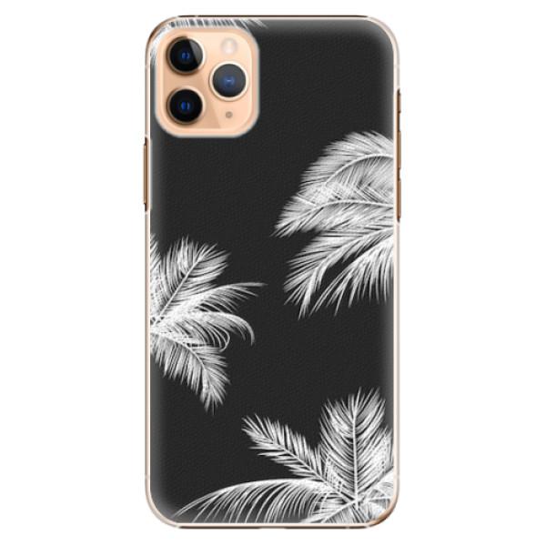 Plastové pouzdro iSaprio - White Palm - iPhone 11 Pro Max