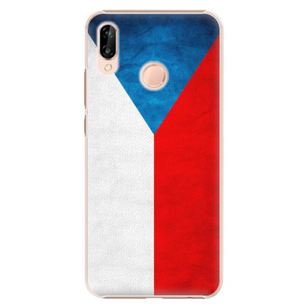 Plastové pouzdro iSaprio - Czech Flag - Huawei P20 Lite