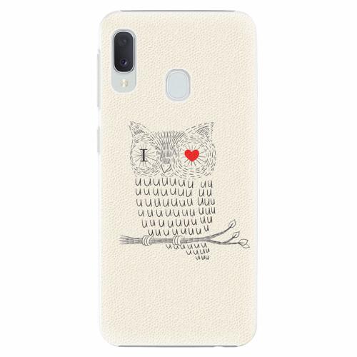 Plastový kryt iSaprio - I Love You 01 - Samsung Galaxy A20e