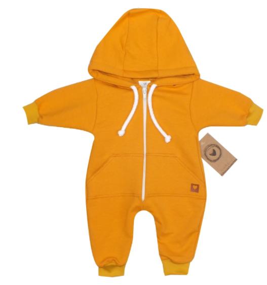 Z&Z Dětský teplákový overálek s kapucí