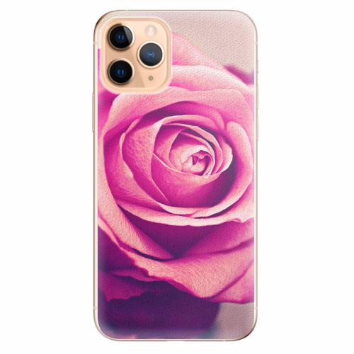 Silikonové pouzdro iSaprio - Pink Rose - iPhone 11 Pro